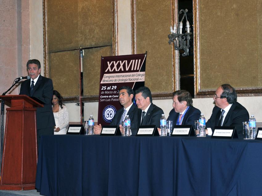 Abre en SLP Congreso Internacional de Urología