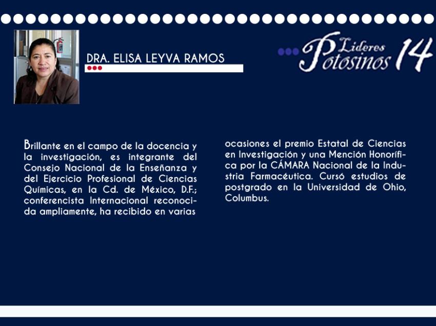 Dra. Elisa Leyva Ramos