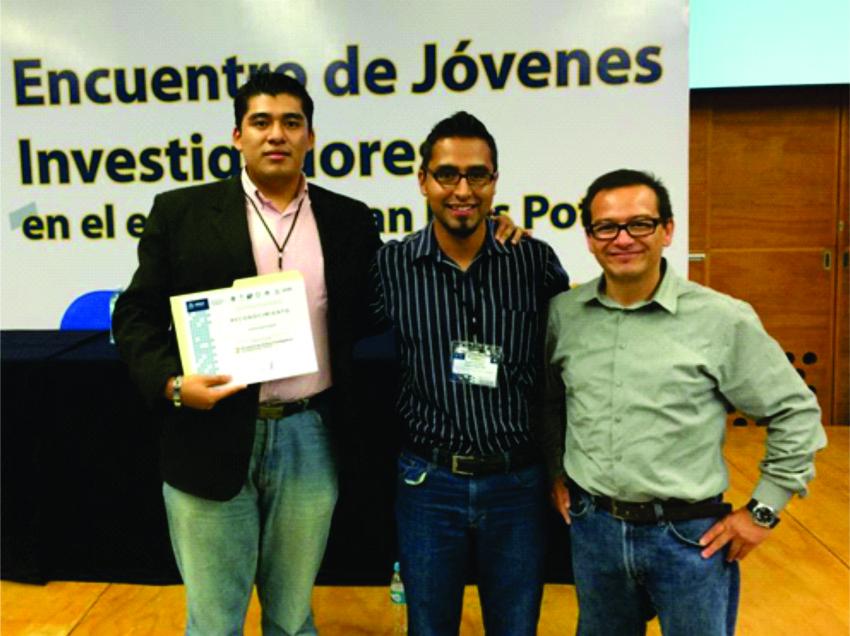 """Alumnos de la UP ganan el  """"2º. Encuentro de Jóvenes Investigadores de SLP"""""""