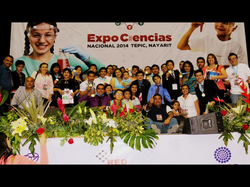 Alumnos potosinos ganadores en la Expociencias Nacional 2014