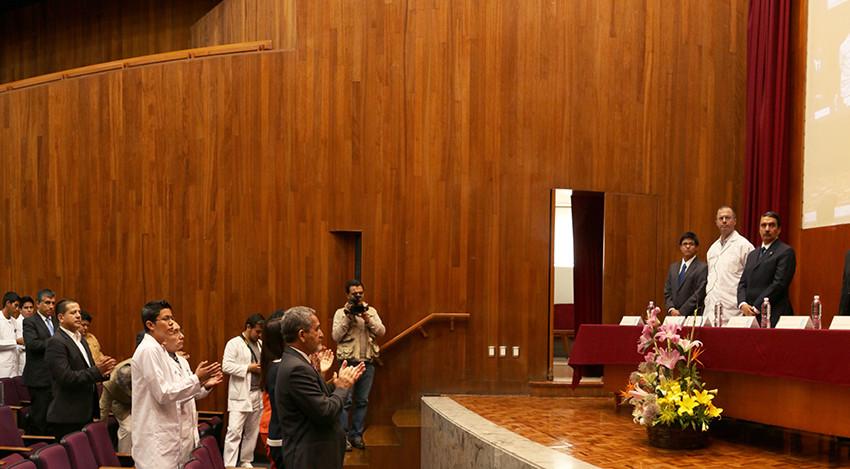 Rector de la UASLP inaugura XV Congreso Medicina de Vanguardia