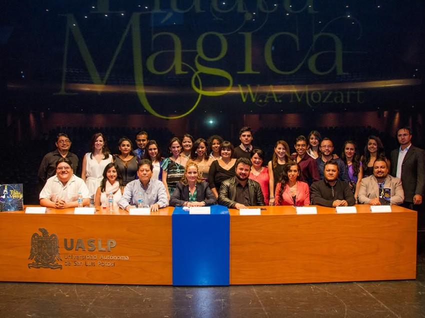 Presenta la UASLP la ópera de La Flauta Mágica