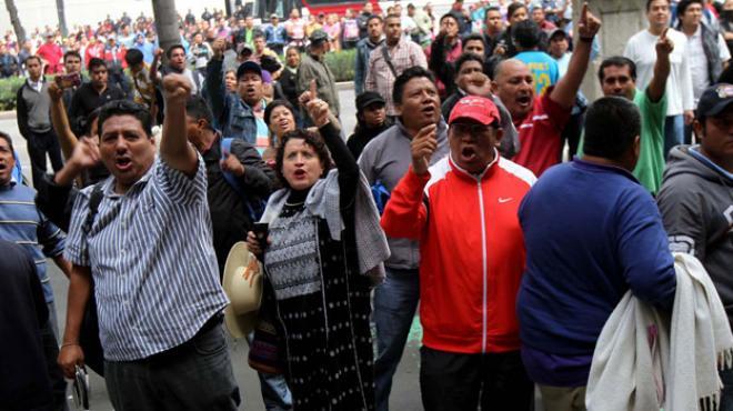 Maestros de SLP marcharan por supuesta violación a sus derechos humanos
