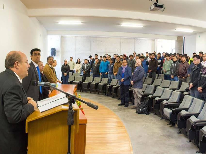 Facultad de Ciencias de la UASLP inaugura ETAS 2016