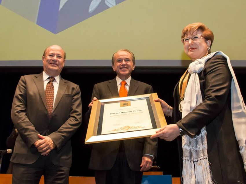 Otorga la UASLP Doctorado Honoris Causa a la ministra Margarita Beatriz Luna Ramos