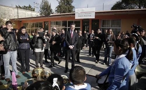 Sólido, nivel de evaluación educativa en México: OCDE