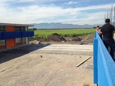 Supervisa nuevas instalaciones de la UICSLP Campus valles