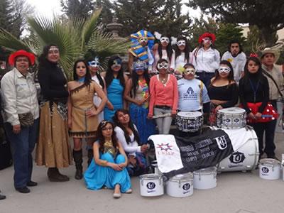 Participa la Universidad en tradicional carnaval de Charcas