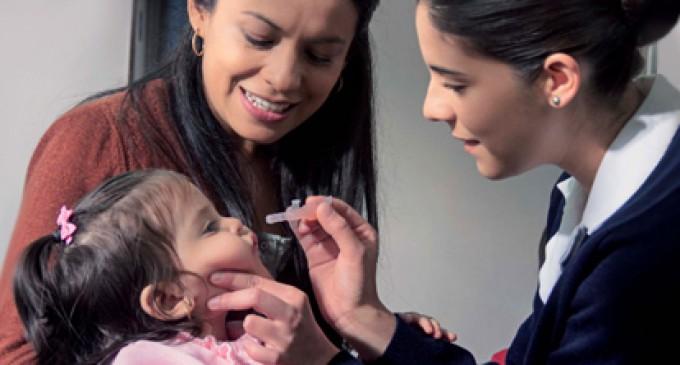 Del 20 al 26 de febrero vacunaran a niños menores de cinco años