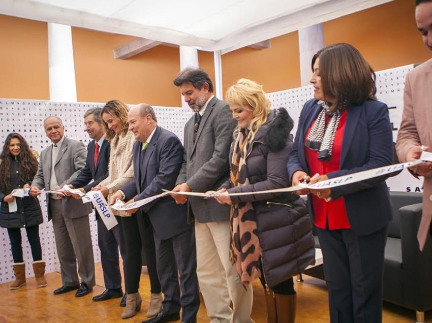 Inició la XLI de la Feria Nacional del Libro de la UASLP en