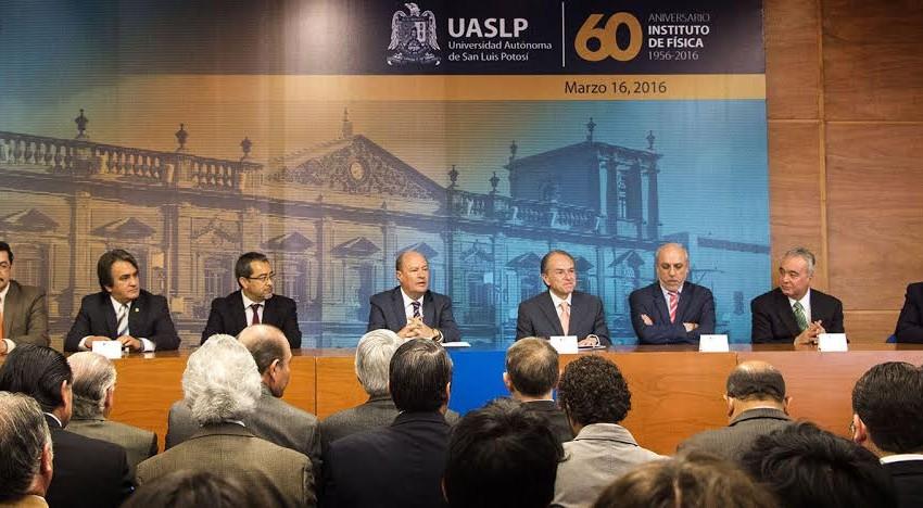 Instituto de Física de la UASLP celebra 60 años investigando y educando