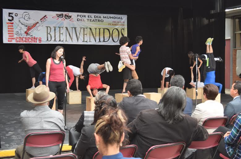 Escuelas del Arte del SEER festejan día mundial del teatro