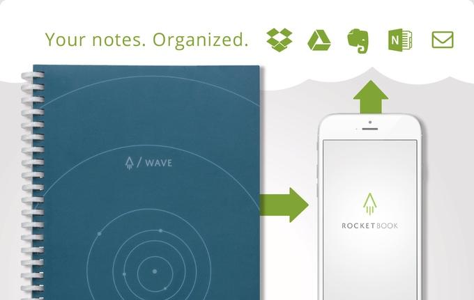 Inventan libreta que transfiere notas al celular