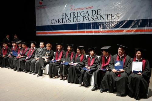 La Universidad Intercultural entregó 207 títulos