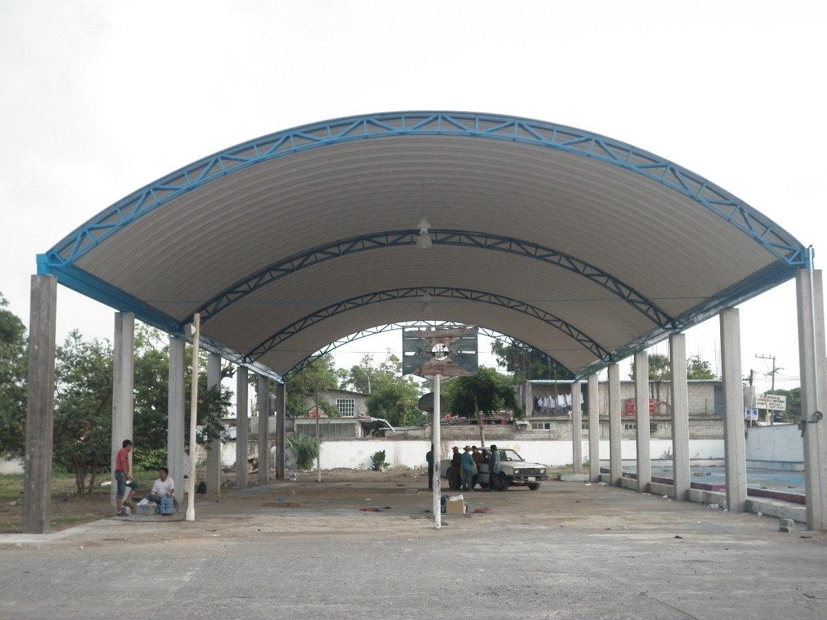 Invertir n 120 mil pesos en material para techados de - Estructuras para toldos ...
