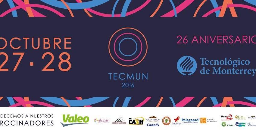 Participarán 400 alumnos del Tecnologico de Monterrey en el Tecmun 2016