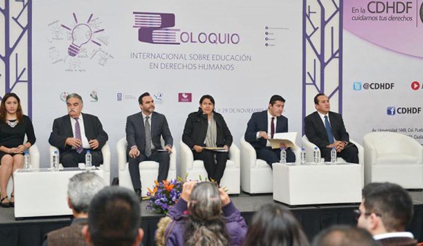 CEDH acude al 2º coloquio Internacional en Educación y Derechos Humanos