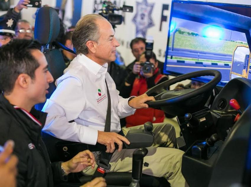 APEX presenta un simulador de vehículos pesados