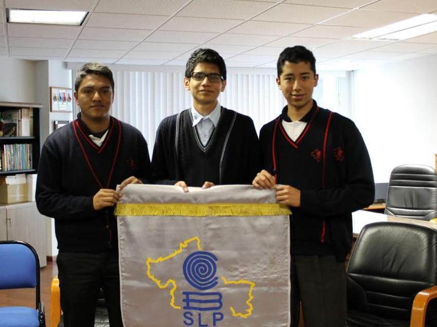 Alumnos del COBACH representan a San Luis en la XXII olimpiada nacional de física