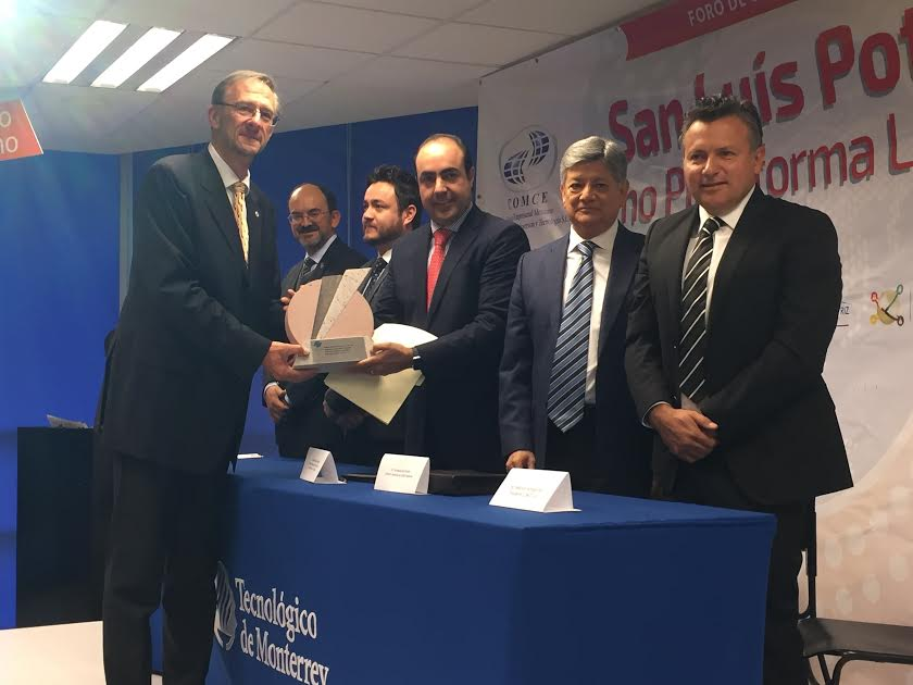 Entregan Premio Estatal de Exportación 2016 en el Tecnológico de Monterrey