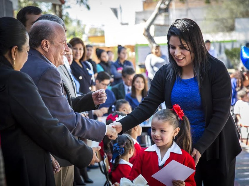 UASLP, SEGE y Sector Salud certificaron a Jardín de Niños como libre de Caries