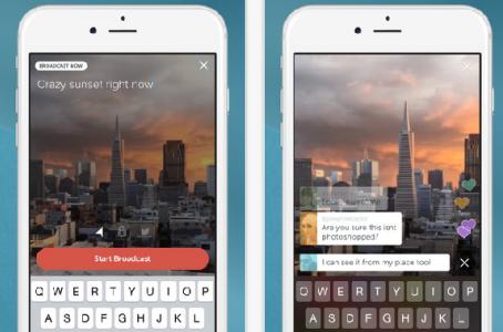 Twitter permitirá transmitir en vivo desde su app