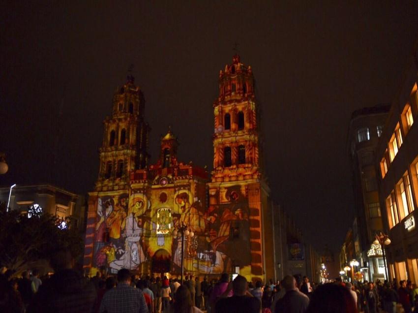 Arrancó Fiesta de Luz navideña en catedral
