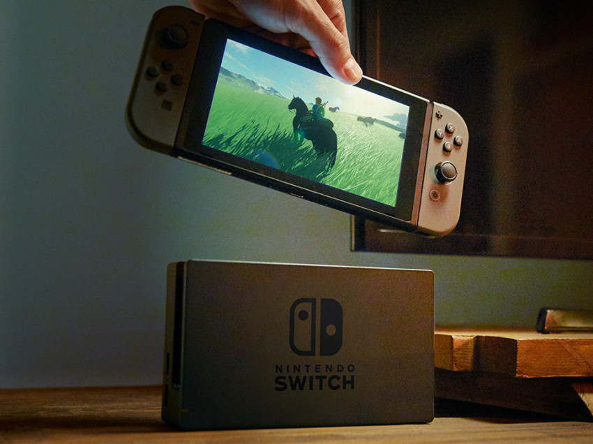 Video: el debut del Nintendo Switch en televisión