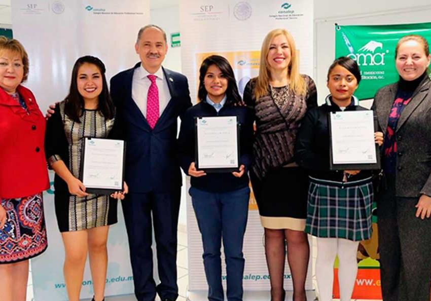 Alumna de Conalep gana primer lugar en concurso nacional