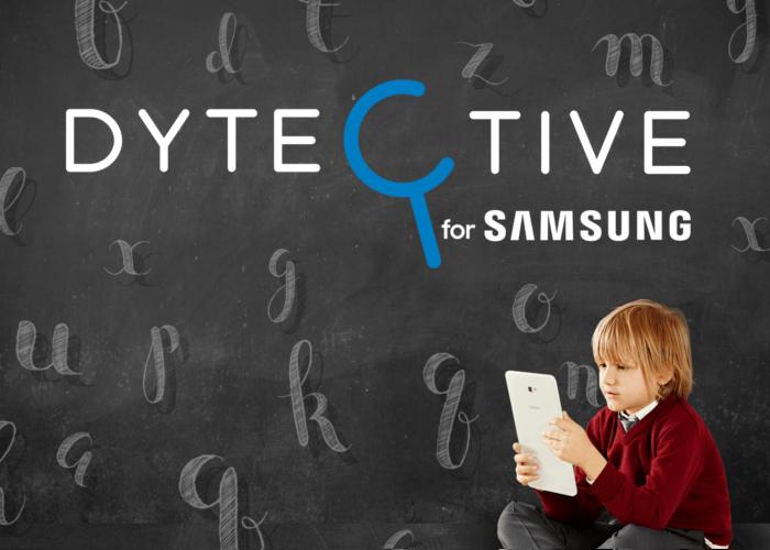 Dytective for Samsung, una app gratuita para detectar la dislexia