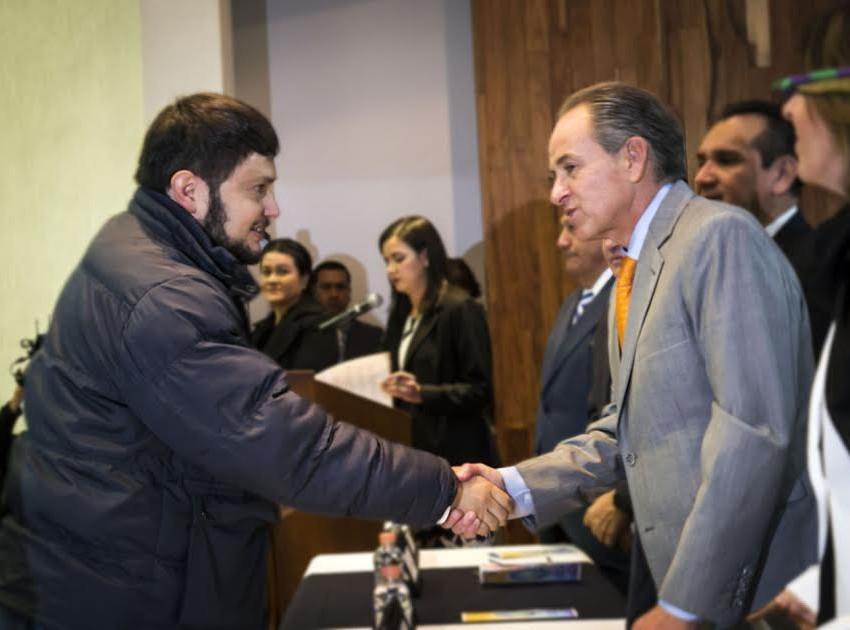Investigador de la UASLP, recibió Mención Honorifica en el Premio Estatal de Derechos Humanos 2016