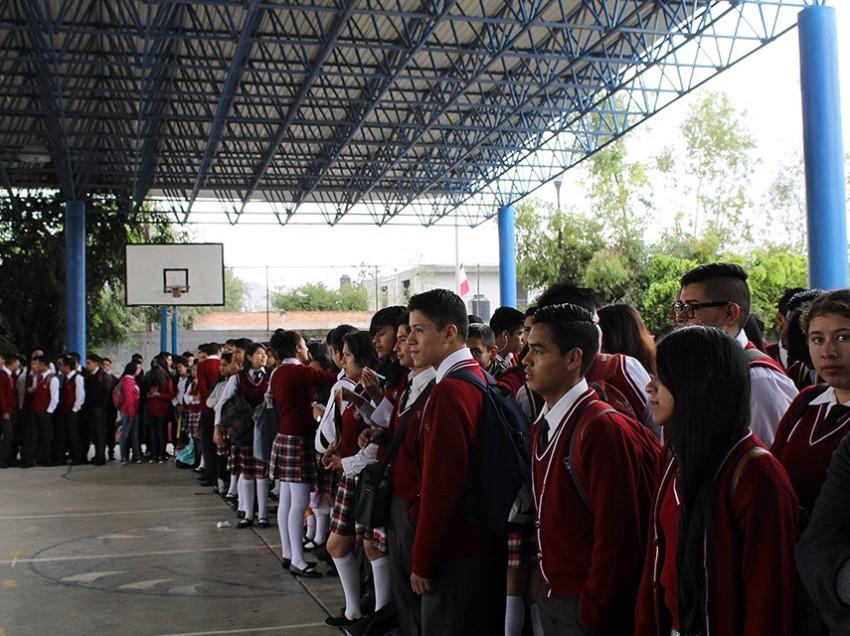 Inician actividades 33 mil alumnos de 40 planteles del COBACH
