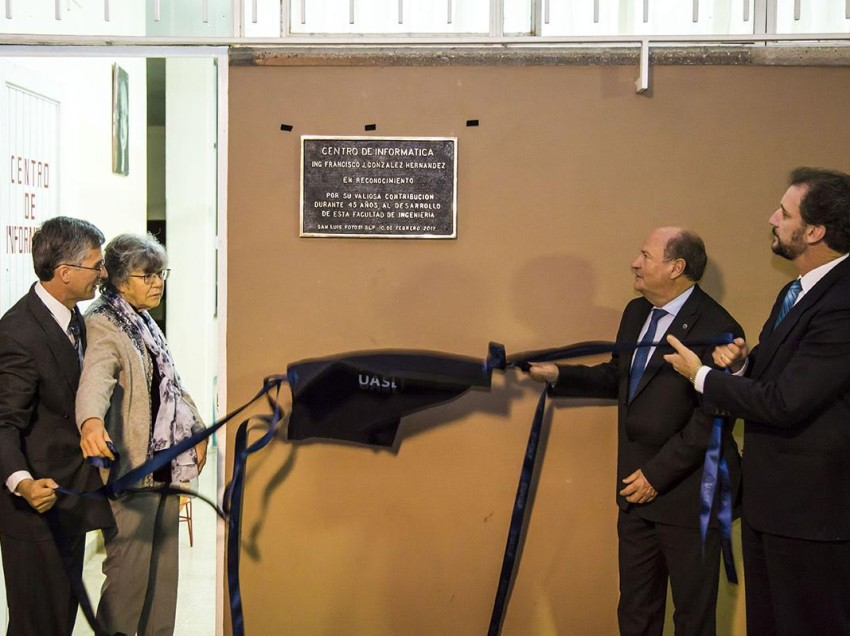 Facultad de Ingeniería rinde homenaje póstumo al Ing. Francisco Javier González