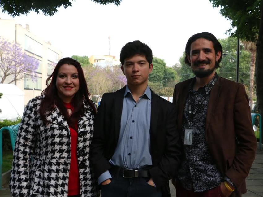 Alumno potosino recibe premio nacional de Cultura y las Artes en la Ciudad de México