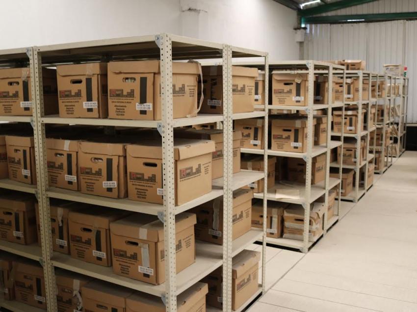 Inician programa de protección y organización de archivos escolares