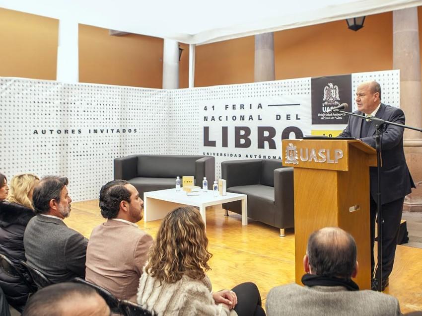 Afina detalles la UASLP, para su 42 Feria Nacional del Libro