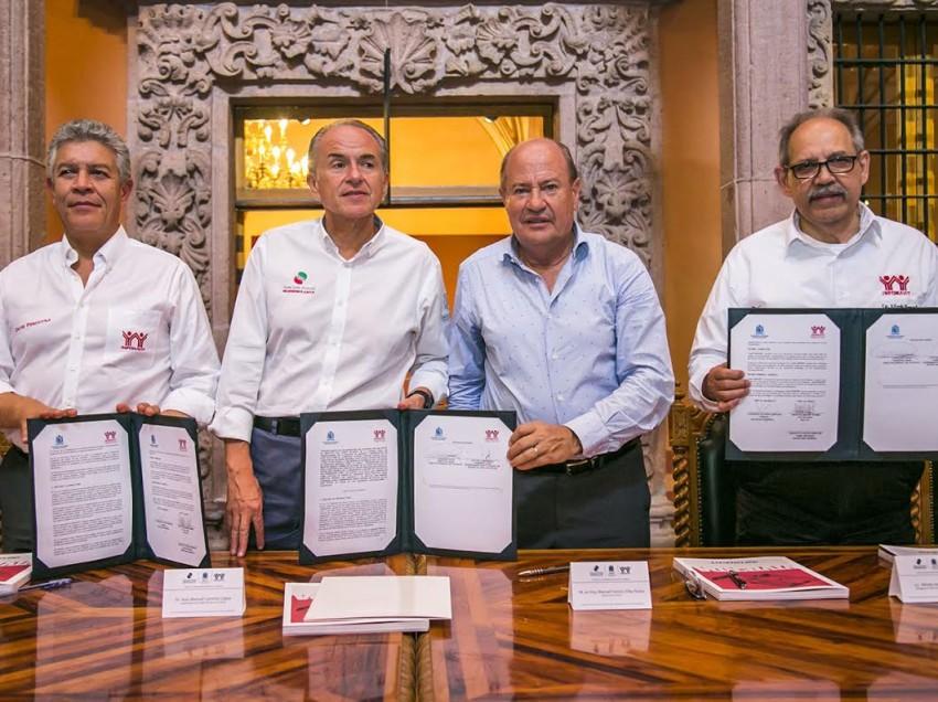 UASLP firma convenio de colaboración con INFONAVIT