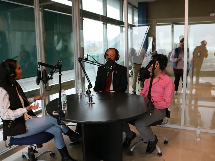 Inauguran  Centro de Medios en el Tecnológico de Monterrey SLP *Cuenta con modernas salas de radio, televisión, cine y fotografía