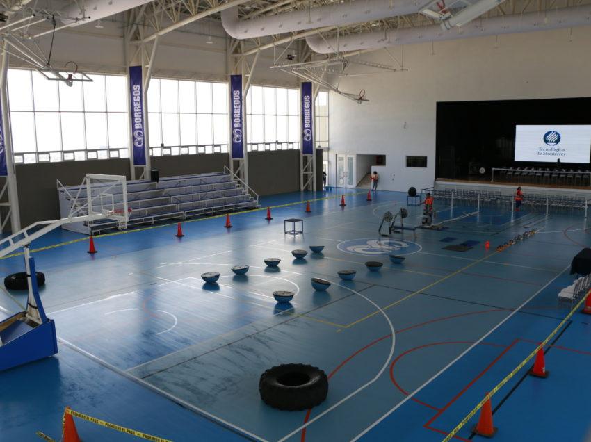 Inaugura el Tecnológico de Monterrey de SLP nuevo núcleo de actividades deportivas