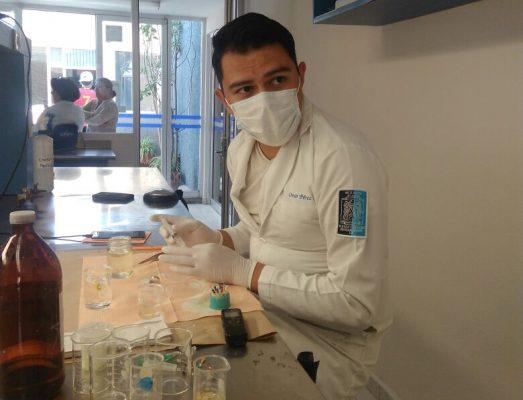 Estudiante de la UASLP desarrolla proyecto para utilizar hipoclorito de sodio en procedimientos de endodoncia