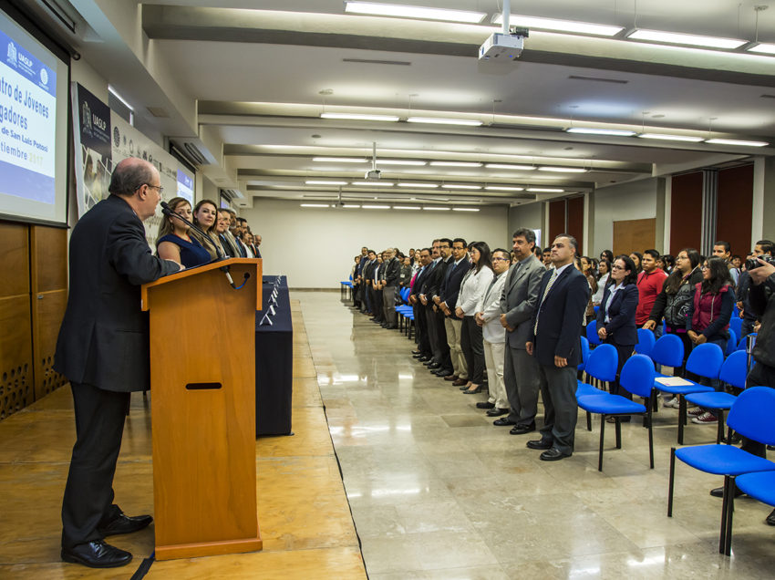 UASLP inauguró 5° Encuentro de Jóvenes Investigadores
