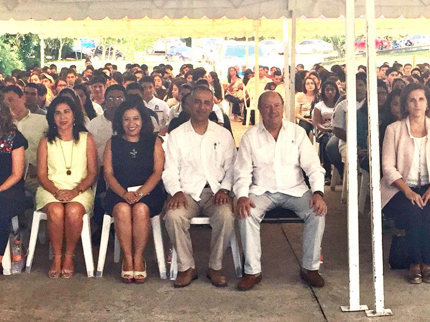 Rector inaugura ciclo 2017-2018 en Campus Tamazunchale