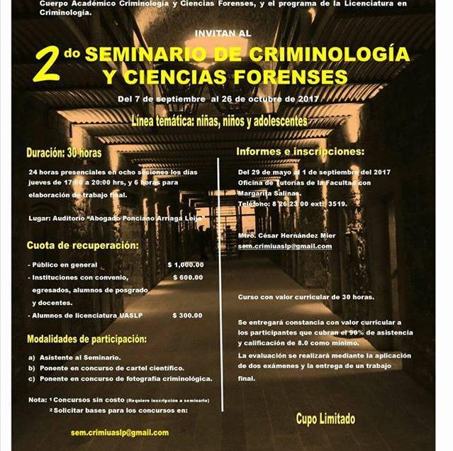 Facultad de Derecho lista para realizar 2do seminario de Criminología y Ciencias Forenses