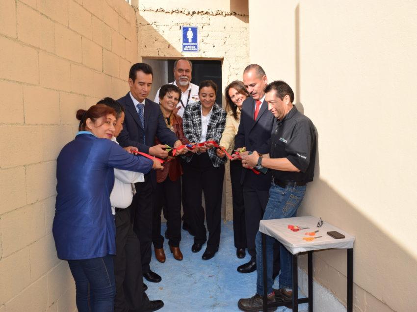 Inauguran importantes obras en primaria del SEER
