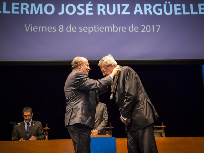 UASLP otorga Doctorado Honoris Causa al doctor Guillermo José Ruiz Argüelles