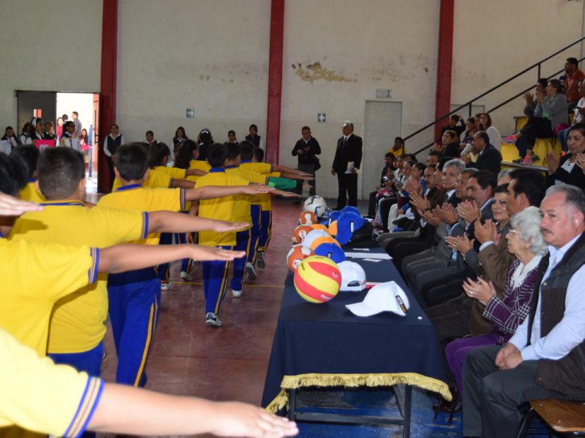 SEER inauguran juegos deportivos de la educación básica