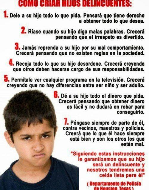 Niños manipuladores. Como reconocerlos y lidiar con ellos
