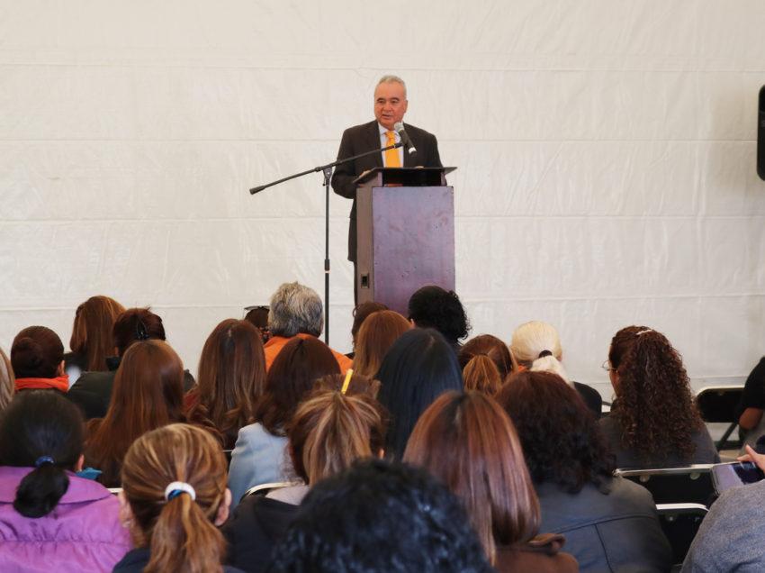 Educación, fundamental para eliminar la violencia hacia las mujeres: JRD