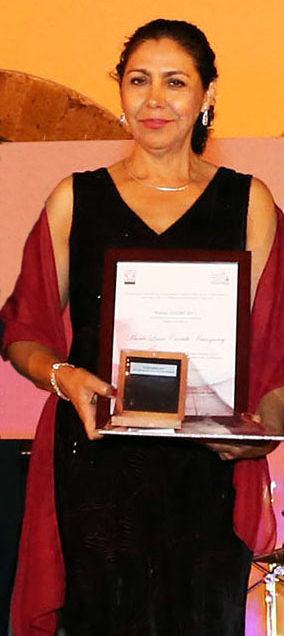 Investigadora de la UASLP recibe Premioen Innovación Educativa