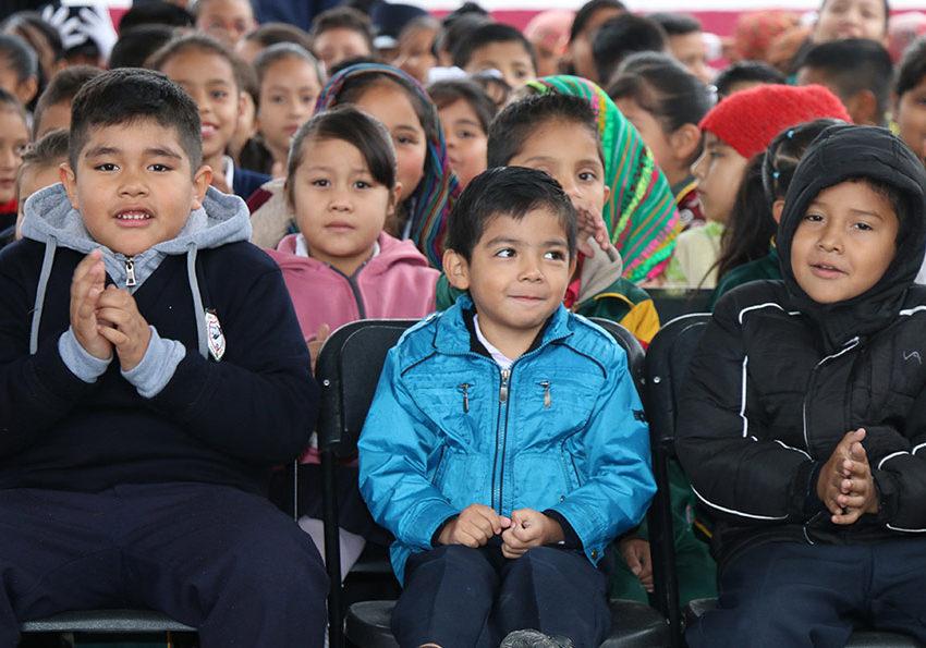 Inician medidas invernales de prevención en educación básica